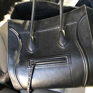 Celine Phantom Black Purse Bag